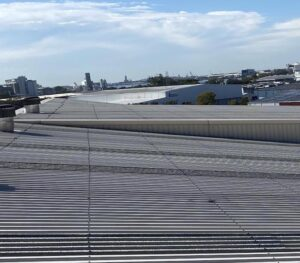 Commercial roof scape